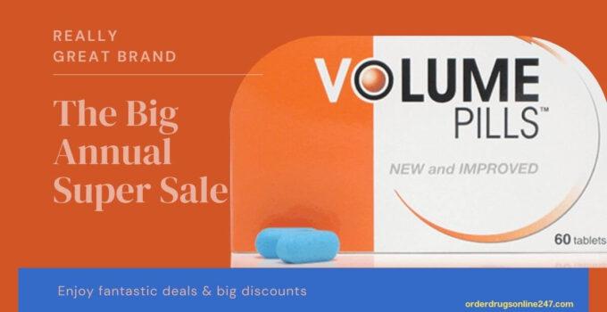 10% OFF Volume Pills Discount Code